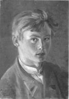 Karl Stauffer Bern Selbstportrait 1875
