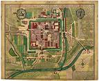 Stadtplan von Jena in der Mitte des 18. Jahrhunderts