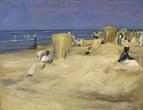 Max Liebermann Am Strand von Nordwijk