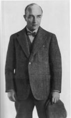 Musil mit Hut 1931