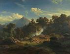 Johann Gottfried Steffan: Idylle bei Meiringen
