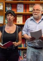 Julia Knapp und Bernhard Echte in der Buchhandlung Mahr ©www.hs53.de