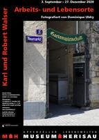 Flyer Ausstellung Karl und Robert Walser